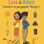 [fr]Couverture d'un tome de Lisa et Adam qui sera adaptée en série animée [en]Cover of a Lisa and Adam volume that will be adapted into an animated series